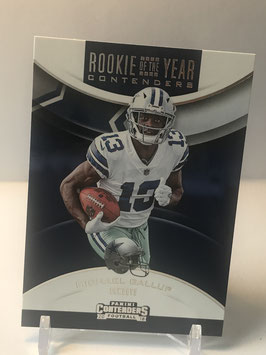 Michael Gallup (Cowboys) 2018 Contenders Rookie of the Year Contenders #RYA-MG
