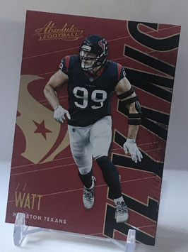JJ Watt (Texans) 2018 Absolute #41