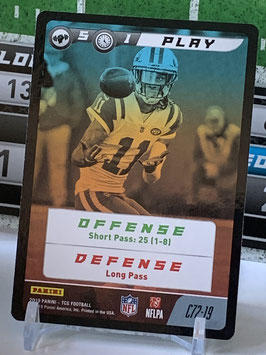 Play: Robby Anderson (Jets) 2019 Panini FIVE TCG #C72