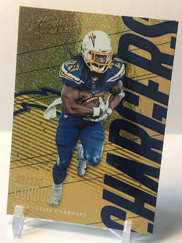 Melvin Gordon (Chargers) 2018 Absolute Spectrum Blue #56