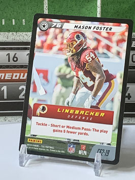 Mason Foster (Redskins) 2019 FIVE TCG C62