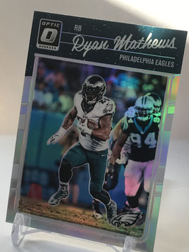 Ryan Mathews (Eagles) 2016 Donruss Optic Holo #78