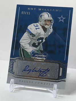 Roy Williams (Cowboys) 2019 Chronicles Signature Series Autograph