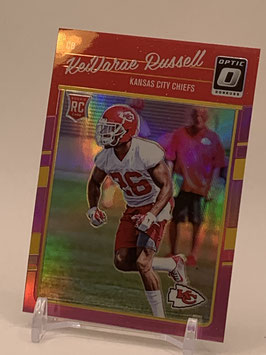 KeVarae Russell (Chiefs) 2016 Donruss Optic Pink Holo #126