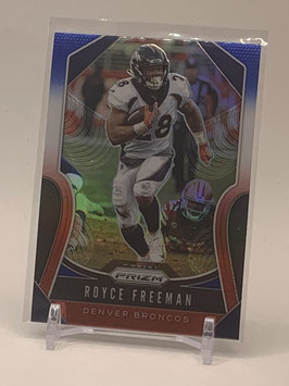 Royce Freeman (Broncos) 2019 Prizm Red/White/Blue Prizm #204