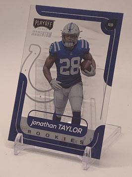 Jonathan Taylor (Colts) 2020 Panini Chronicles Playoff Momentum #M-7