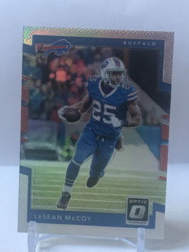 LeSean McCoy (Bills) 2017 Donruss Optic Silver Prizm #24