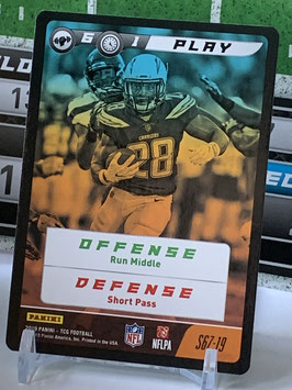 Play: Melvin Gordon (Chargers) 2019 Panini FIVE TCG #S67
