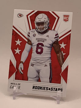 Willie Bay Jr. (Mississippi State/ Chiefs) 2020 Rookies & Stars #199