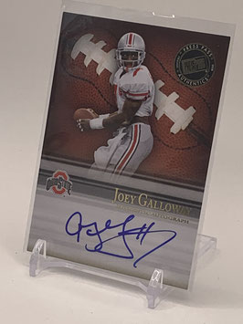 Joey Galloway (Ohio State/ Seahawks) 2008 Press Pass Legends Bowl Edition Semester Signatures Autograph #SS-JG