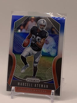 Marcell Ateman (Raiders) 2019 Prizm Red/White/Blue Prizm #228