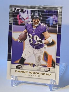 Danny Woodhead (Ravens) 2017 Playoff 1st. Down #94