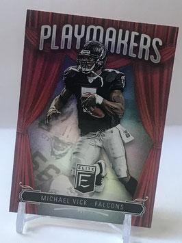 Michael Vick (Falcons) 2019 Elite Playmakers #PM11