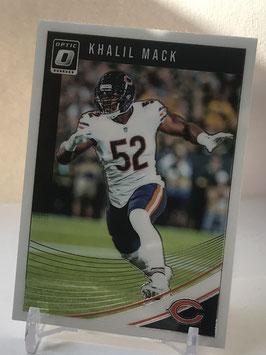 Khalil Mack (Bears) 2018 Donruss Optic #20