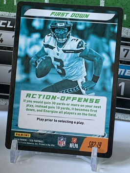 Action Offense: Russell Wilson (Seahawks) 2019 Panini Five TCG #S82