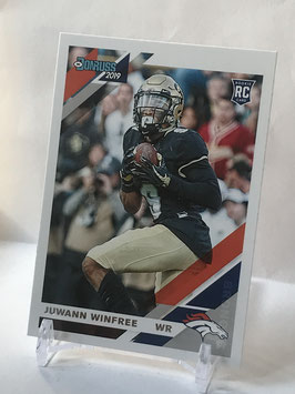 Juwann Winfree (Colorado/ Broncos) 2019 Donruss #297
