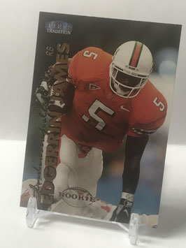 Edgerrin James (Miami/ Colts) 1999 Fleer Tradition #277