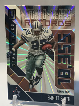 Emmitt Smith (Cowboys) 2016 Panini Unparalleled World Class Records #WCR-2