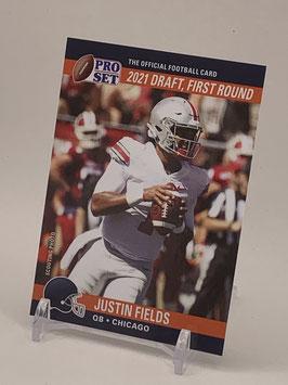 Justin Fields (Ohio State/ Bears) 2021 Leaf Pro Set Draft Day #PSDD8