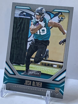 Josh Oliver (Jaguars) 2019 Playbook #167