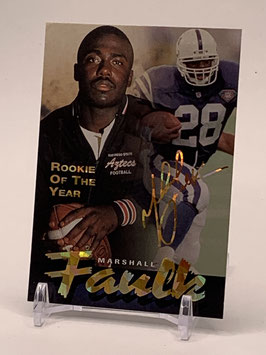 Marshall Faulk (Colts) 1995 Football's Finest Rookie of the Year #209
