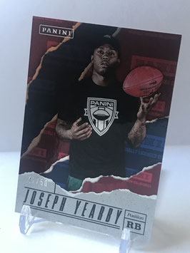 Joseph Yearby (Miami) 2017 Panini Father's Day Foil #66
