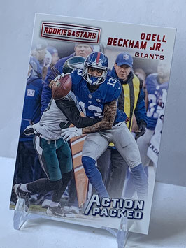 Odell Beckham Jr. (Giants) 2018 Rookies & Stars Action Packed #5