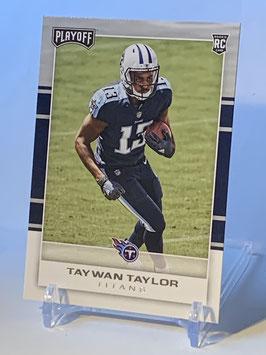 Taywan Taylor (Titans) 2017 Playoff #238