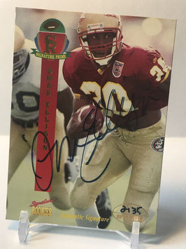 Omar Ellison (Florida State/ Chargers) 1995 Signature Rookies Prime Autograph #14