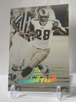 Marshall Faulk (Rams) 2020 Luminance Vintage #VP9