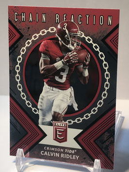 Calvin Ridley (Alabama/ Falcons) 2018 Panini Elite Draft Picks Chain Reaction #3