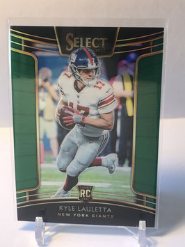 Kyle Lauletta (Giants) 2018 Select Green Prizm #14