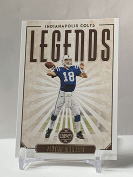 Peyton Manning (Colts) 2020 Legacy Legends #111