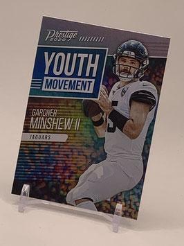 Gardner Minshew II (Jaguars) 2020 Prestige Youth Movement #YM-GM