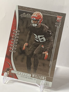 Greedy Williams (Browns) 2019 Absolute #151