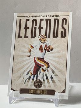 John Riggins (Redskins) 2020 Legacy Legends #130