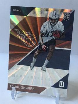 Tajae Sharpe (Titans) 2016 Panini Unparalleled #194