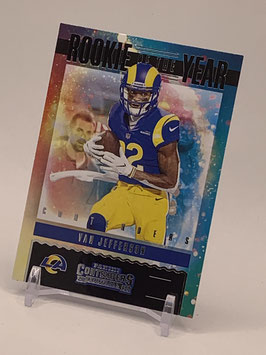 Van Jefferson (Rams) 2020 Contenders Rookie of the Year #RY-VJE