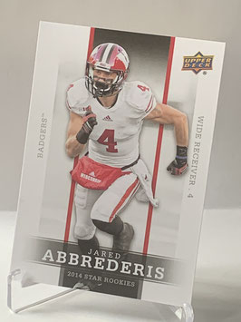 Jared Abbrederis (Wisconsin/ Rams) 2014 Upper Deck Star Rookies #39