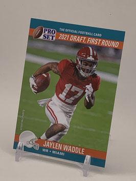 Jaylen Waddle (Alabama/ Dolphins) 2021 Leaf Pro Set Draft Day #PSDD6