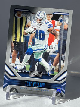 Tony Pollard (Cowboys) 2019 Playbook Platinum #135