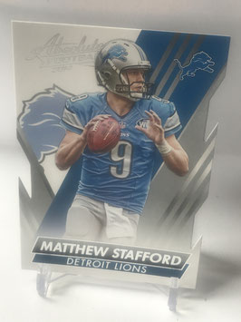 Matthew Stafford (Lions) 2014 Absolute Retail #88