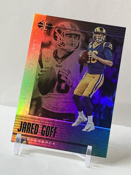 Jared Goff (Rams) 2019 Illusions #85