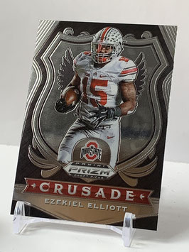 Ezekiel Elliott (Ohio State/ Cowboys) 2020 Prizm Draft Crusade #50