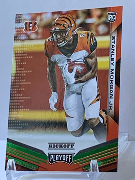 Stanley Morgan Jr. (Bengals) 2019 Playoff Kickoff Green #274