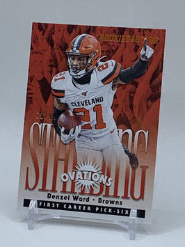 Denzel Ward (Browns) 2020 Rookies & Stars Standing Ovations Bronze #SO-17