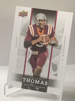 Logan Thomas (Virginia Tech/ Cardinals) 2014 Upper Deck Star Rookies #17