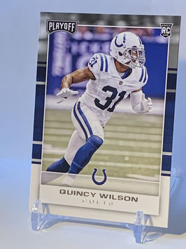 Quincy Wilson (Colts) 2017 Playoff #268