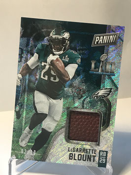 LeGarrette Blount (Eagles) 2018 Black Friday Super Bowl Memorabilia Rapture #2