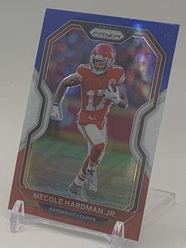 Mecole Hardman (Chiefs) 2020 Prizm Red White Blue Prizm #123
